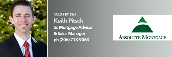 bellevue, home, loans, mortgage, officer, lending, seattle, redmond, burien, absolute, mortgage, keith, pitsch