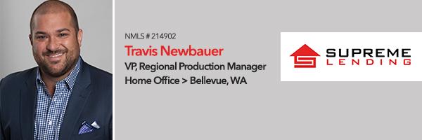 travis, newbauer, bellevue, mortgage, loans, officer, Seattle